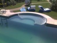 leżak basenowy, jacuzzi