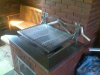 grill ze stali nierdzewnej